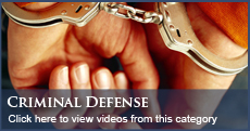 Florida Criminal Defense Videos