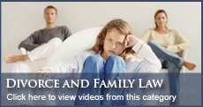 Florida Divorce and Family Law Videos