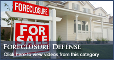 Florida Foreclosure Defense Videos