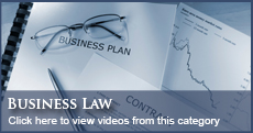 Florida Attorney Business Law Videos