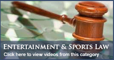Florida Sports and Entertainment Law Videos
