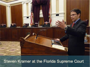 Steven Kramer at the Florida Supreme Court